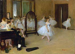 The Dancing Class | Degas | Painting Reproduction