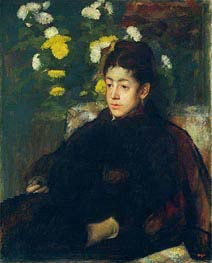 Mademoiselle Malo | Degas | Painting Reproduction
