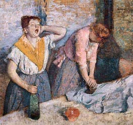 Laundry Girls Ironing | Degas | Painting Reproduction