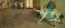 Before the Ballet | Degas | Painting Reproduction