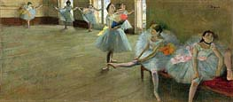 Dancers in the Classroom, c.1880 by Degas | Painting Reproduction