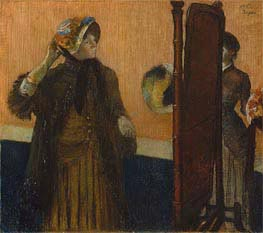 At the Milliner's, 1882 von Degas | Gemälde-Reproduktion