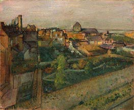 View of Saint-Valery-sur-Somme | Degas | Painting Reproduction