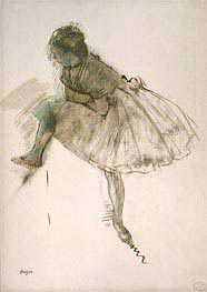 Study of a Ballet Dancer, c.1873 von Degas | Gemälde-Reproduktion