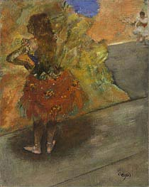 Ballet Dancer, c.1873/00 by Degas | Painting Reproduction
