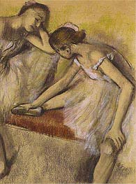 Dancers in Repose | Degas | Painting Reproduction