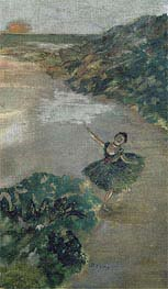 Dancer on stage | Degas | Painting Reproduction