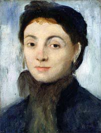 Portrait of Josephine Gaujelin | Degas | Painting Reproduction