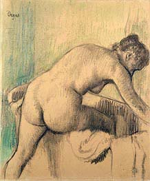 The Bath | Degas | Painting Reproduction