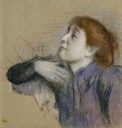 Bust of a Woman | Degas | Painting Reproduction