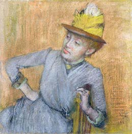 Seated Woman | Degas | Painting Reproduction