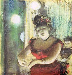 Cafe-Concert Singer | Degas | Painting Reproduction