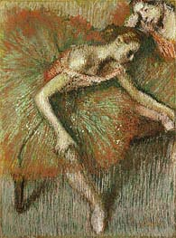 Dancers, c.1899 by Degas | Painting Reproduction