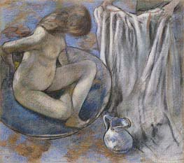 Woman in the Tub | Degas | Painting Reproduction