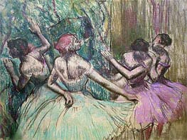 Dancers in the Wings | Degas | Painting Reproduction