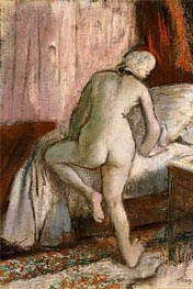 Bedtime | Degas | Painting Reproduction