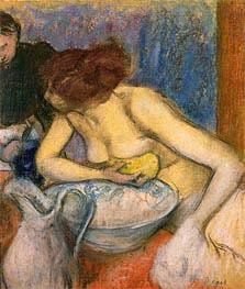 The Toilet | Degas | Gemälde Reproduktion