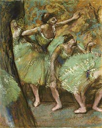 Dancers, 1898 by Degas | Painting Reproduction