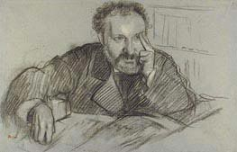 Edmond Duranty, undated by Degas | Painting Reproduction