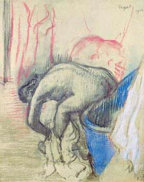 After the Bath, 1903 by Degas | Painting Reproduction