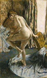 After the Bath, c.1883 by Degas | Painting Reproduction