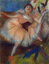 Seated Dancer | Degas | Gemälde Reproduktion