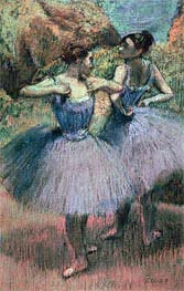 Dancers in Violet | Degas | Painting Reproduction