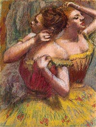 Two Dancers | Degas | Painting Reproduction