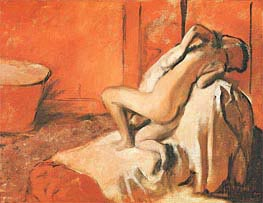 After the Bath | Degas | Painting Reproduction
