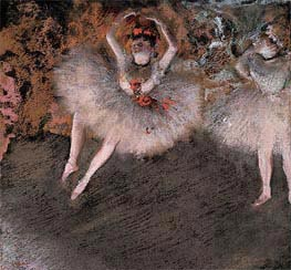 The Pas Battu | Degas | Painting Reproduction