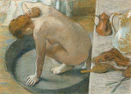 The Tub | Degas | Painting Reproduction
