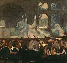 The ballet scene from Meyerbeer's opera 'Robert le Diable' | Degas | Painting Reproduction