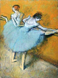 Dancers at the Barre | Degas | Gemälde Reproduktion