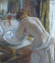 The toilet | Degas | Painting Reproduction