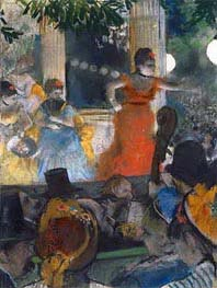 The Cafe-Concert des Ambassadeurs | Degas | Painting Reproduction