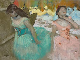 Entrance of the Masked Dancers | Degas | Painting Reproduction