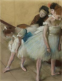 Dance Examination, 1880 by Degas | Painting Reproduction