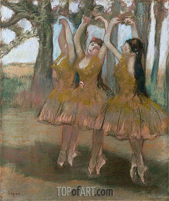 The Greek Dance, c.1881 | Degas | Painting Reproduction