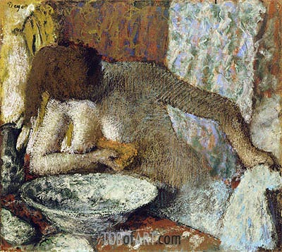Woman at her Toilet, c.1897 | Degas | Gemälde Reproduktion