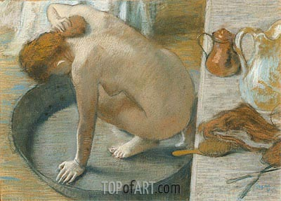 The Tub, 1886 | Degas | Painting Reproduction