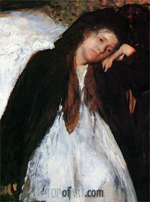 The Invalid, c.1872/73 | Degas | Painting Reproduction