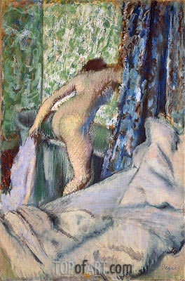 The Morning Bath, c.1887/90 | Degas | Painting Reproduction