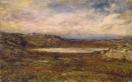 Wild Coast, Newport, c.1885/95 by Homer Dodge Martin | Painting Reproduction