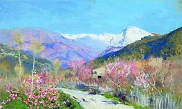 Spring in Italy | Isaac Levitan | Painting Reproduction