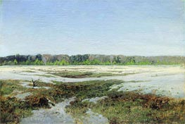 Early Spring | Isaac Levitan | Painting Reproduction