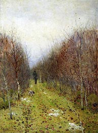 Autumn. Hunter | Isaac Levitan | Gemälde Reproduktion