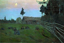 Dusk, 1900 by Isaac Levitan | Painting Reproduction