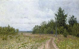 The Track | Isaac Levitan | Painting Reproduction