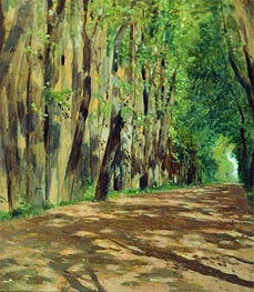 Alley | Isaac Levitan | Painting Reproduction