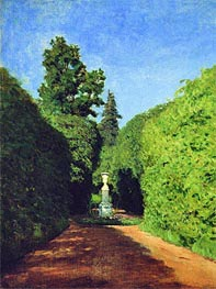 Alley. Ostankino | Isaac Levitan | Painting Reproduction